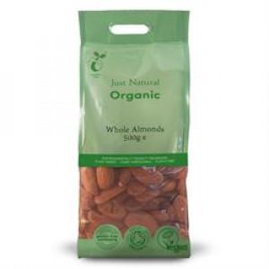 Organic Almonds - Whole 500g