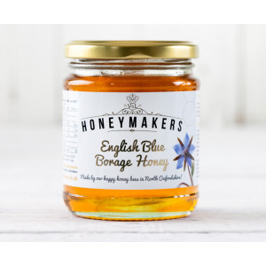 Local Blue Borage Honey 340g