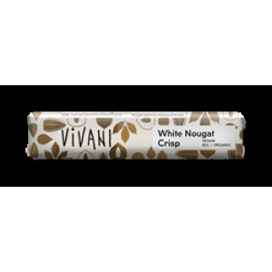 Organic White Nougat Crisp 35g