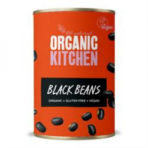 Value Organic Black Beans 400g
