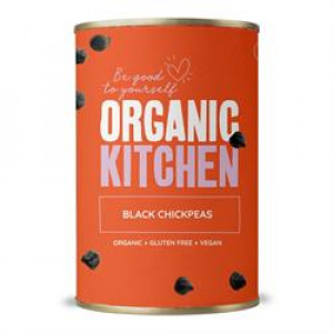 Value Organic Black Chickpeas 400g