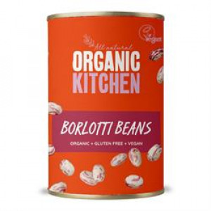 Value Organic Borlotti Beans 400g