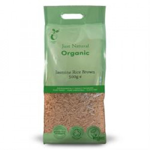 Organic Brown Jasmin Rice 500g