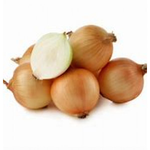 Organic Brown Onions per 500g