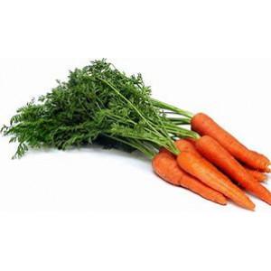 Organic Carrots per Bunch