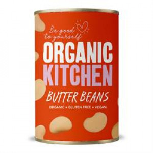 Value Organic Butter Beans 400g