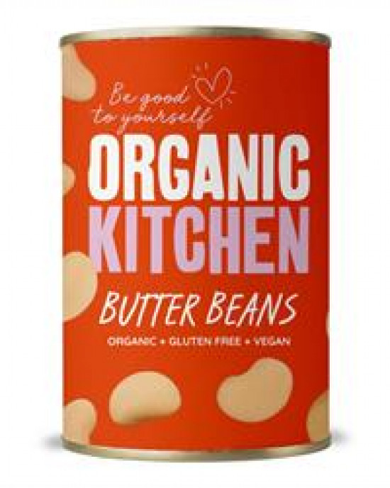Value Organic Butter Beans 400g