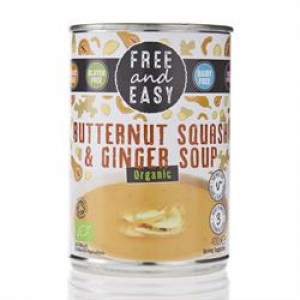 Organic Soup - Butternut Squash and Ginger 400g