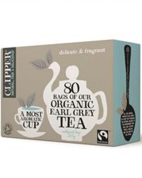 Fairtrade Organic Earl Grey Tea bags (80)