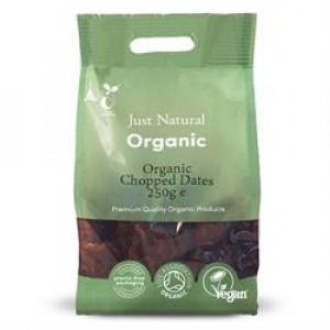 Organic Chopped Dates 250g