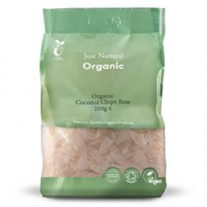 Organic Coconut - Raw Chips 250g