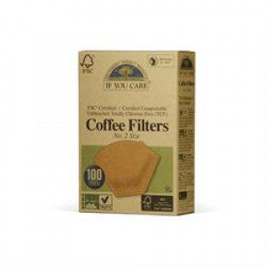 Coffee Filters - Unbleached - No 2 (100)