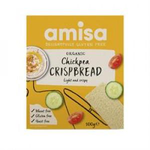 Gluten Free Organic Chickpea Crispbread 100g