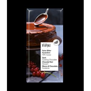 Organic 70% Cacao Dark Cooking Chocolate 200g