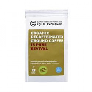 Fairly Traded Organic Decaf Ground Coffee 227g