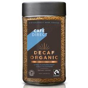 Fairtrade Organic Decaf Freeze Dried Instant Coffee 100g