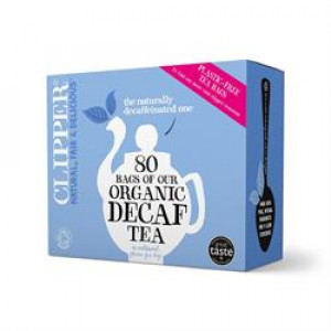 Fairtrade Organic Decaf Tea bags (80)