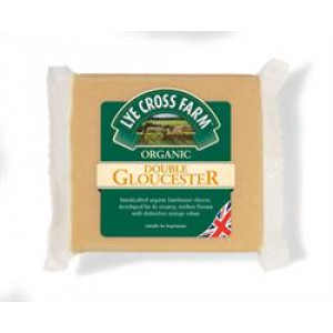 Organic Double Gloucester Cheese 245g