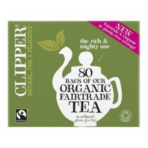Fairtrade Organic Every Day Tea bags (80)