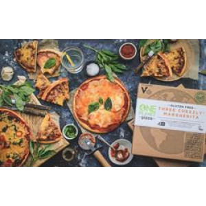 Gluten Free Vegan Three Cheezly Margherita Pizza 450g