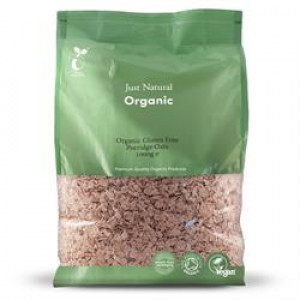 Organic Porridge Oats - Gluten Free 1kg