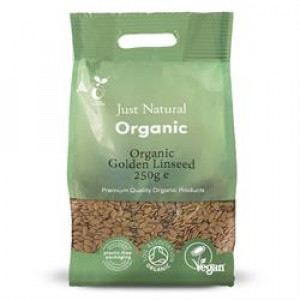 Organic Golden Linseed 250g