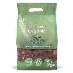 Organic Hazel Nuts 250g