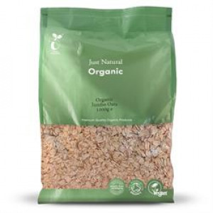 Organic Porridge Oats - Jumbo 1kg