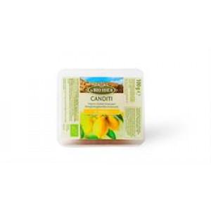 Organic Candied Lemon Peel 100g