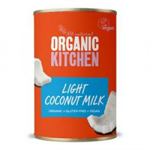 Value Organic Light Coconut Milk 400ml