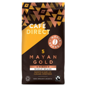 Fairtrade Organic Mayan Gold Coffee Beans 227g