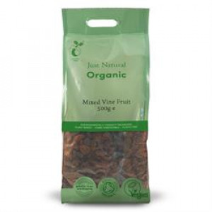 Organic Mixed Vine Fruits 500g