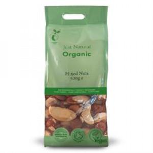 Organic Mixed Nuts - Whole 500g