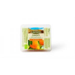 Organic Candied Orange Peel 100g