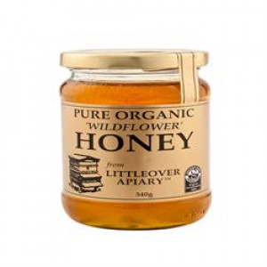 Pure Organic Clear Honey 340g