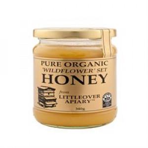 Pure Organic Wildflower Set Honey 340g