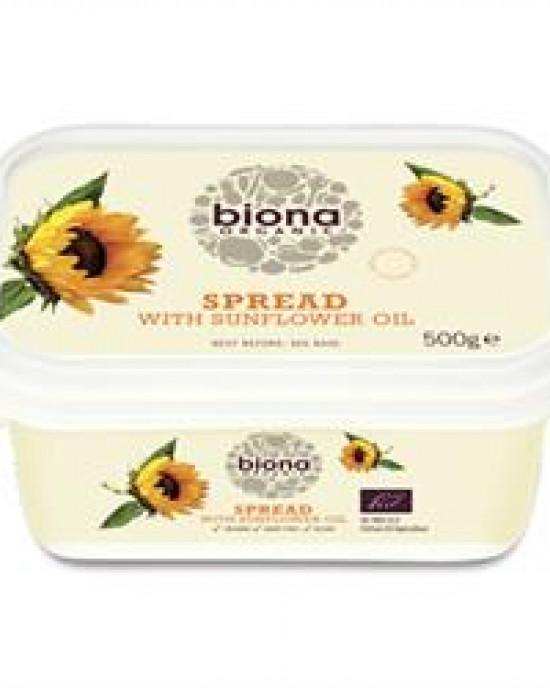 Organic Dairy Free Sunflower Spread 500g