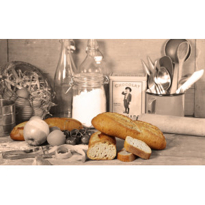 Part-baked Organic Gluten Free Bread 300g