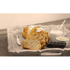 Part-baked Organic Country Style Loaf 460g