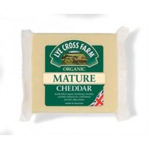 Organic Mature Cheddar 245g