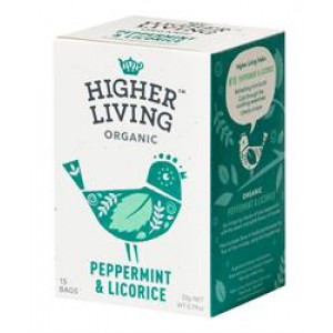 Organic Peppermint and Licorice Tea bags (15)
