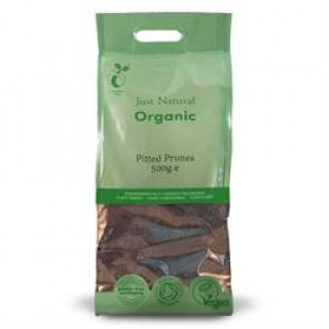 Organic Pitted Prunes 500g