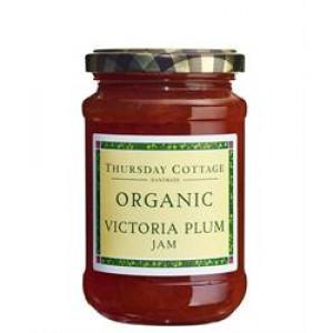 Organic Victoria Plum Jam 340g