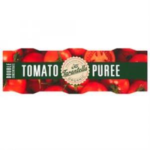 Organic Double Concentrate Tomato Puree 3 x 70g
