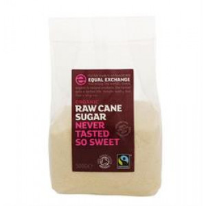 Fairtrade Organic Raw Cane Sugar 500g