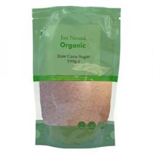 Organic Raw Cane Sugar 500g