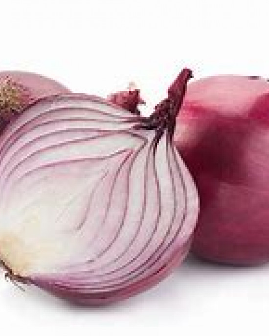 Organic Red Onions per 500g