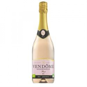 Alcohol Free Organic Sparkling Rose Wine 750ml