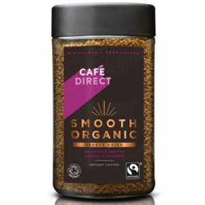 Fairtrade Organic Smooth Freeze Dried Instant Coffee 100g