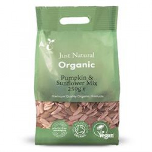 Organic Pumpkin and Sunflower Mix 250g